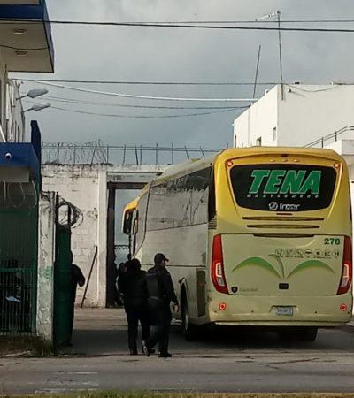 AMPLÍAN TRASLADO DE REOS: También de los penales de Playa del Carmen, Cozumel y Chetumal se llevan a internos de alta peligrosidad a otras cárceles del país