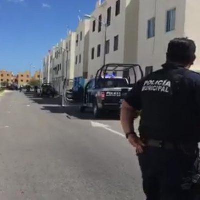 BALAZOS EN LA SM 251: Reportan dos personas heridas en Paseos del Mar en Cancún