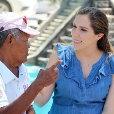Atenea Gómez llama a sumar esfuerzos para recuperar Cancún