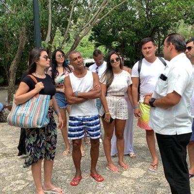 VACACIONA ROMARIO EN LA RIVIERA MAYA: El ex jugador y actual Senador brasileño visita Cozumel, Xcaret y Tulum
