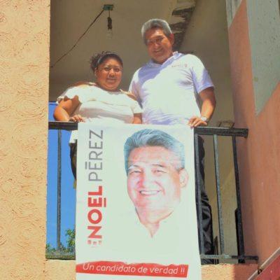 Departamento por departamento, Enoel Pérez sigue su campaña por el Distrito 07