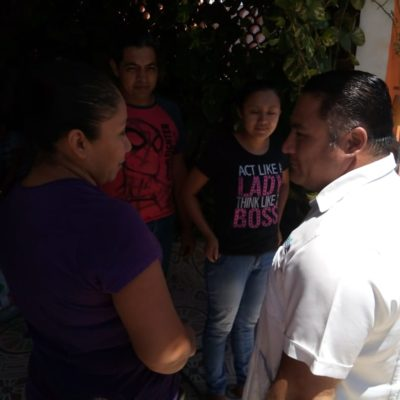 """""""Las amenazas no nos detienen"""", advierte Ismael Sauceda"""