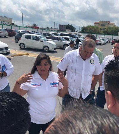 En busca de su reelección, diputada Eugenia Solís refrendó su apoyo a los taxistas contra la entrada de Uber