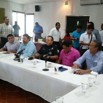 BUSCAN AMARRAR 'MANDO ÚNICO' CON OPB: Capella y asesor del Gobernador se reúnen con regidores