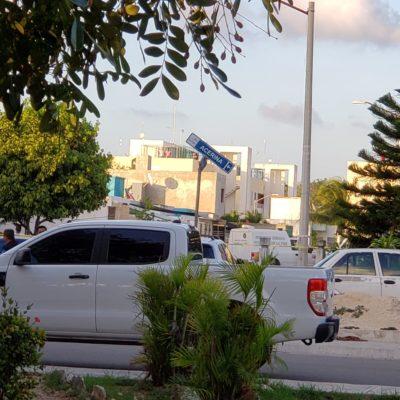 TIROTEO ENTRE MINISTERIALES Y PRESUNTOS SICARIOS: Una mujer muerta y la captura de supuesto líder de líder criminal, saldo del enfrentamiento en el fraccionamiento La Joya de Cancún