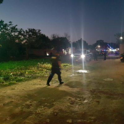 EJECUTADO A BALAZOS EN IN HOUSE: Tirotean a un hombre en fraccionamiento irregular de Playa del Carmen