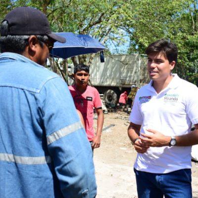 Defiende Gustavo Miranda 'campaña de contacto' ciudadano y propuesta reales en la disputa por el Distrito 8