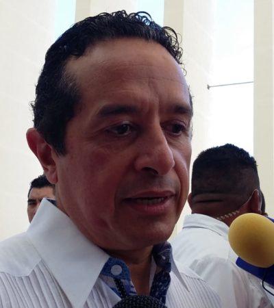 Quintana Roo, 'alineado' a la Guardia Nacional, pero no hay definición de su llegada, dice Carlos Joaquín