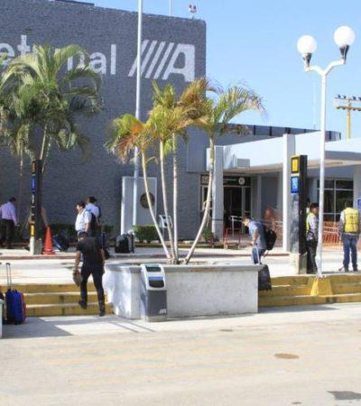 """""""Trabajos de remodelación en el Aeropuerto de Chetumal inician en mayo y concluyen en diciembre"""", anuncia Rosa Elena Lozano, titular de Desarrollo Económico de QR"""