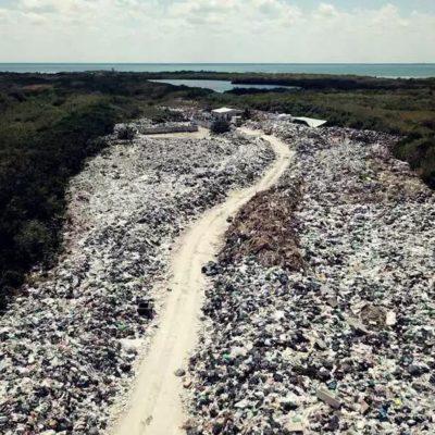 Asegura Nivardo Mena que han 'avanzado' en solucionar el problema del basurero en Holbox