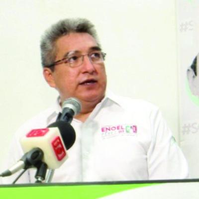 Ante vecinos de colonia Avante, Enoel Pérez, candidato por el PRI, se compromete a hacer leyes que sirvan para enfrentar la inseguridad