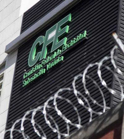 Enfrentarán corrupción en CFE con denuncias anónimas, testigos protegidos y polígrafos