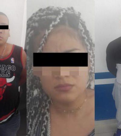 Ponen a disposición de la FGR a tres detenidos en Playa