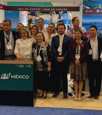 Ratifica Cozumel en el Seatrade Cruise Global 2019 su liderazgo en recepción de pasajeros de cruceros