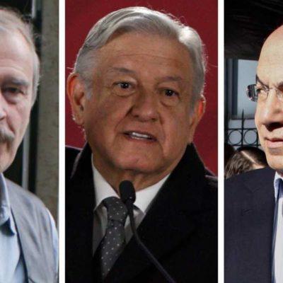 """REGRESA AMLO GUARDIAS A EX PRESIDENTES: Recula el Presidente y devuelve seguridad militar para Fox y Calderón """"sin los excesos"""" del pasado, dice"""