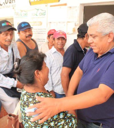 Ofrece Pedro Pérez gestionar que aumente el presupuesto destinado a programas para el campo