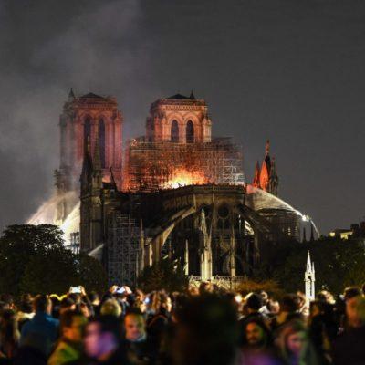Donaciones para Notre Dame suman más de 600 millones de euros, apenas un día después del siniestro