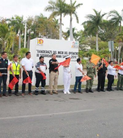 Inicia operativo de Semana Santa 2019 en Chetumal con la participación de más de dos mil elementos policíacos de los tres órdenes de gobierno