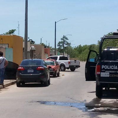 FOTOS | Un par de sujetos detonan armas de fuego en vía pública y logran escapar de las fuerzas policiales en Chetumal