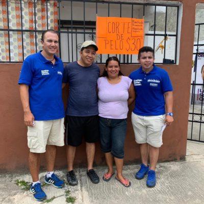 Carlos Orvañanos se propone apoyar desde el Congreso a empresarios locales