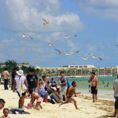 Capitanía Regional de Puerto y Sector Naval inician operaciones de vigilancia en zona costera de Solidaridad, que recibirá a miles de turistas durante Semana Santa