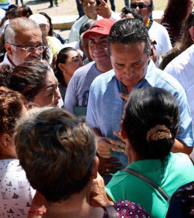 """""""NO ANDO DICIENDO TONTERÍAS Y PREFIERO TRABAJAR"""": Carlos Joaquín externa malestar porque las obras que realiza no sean tomadas en cuenta ni difundidas"""