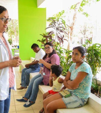 Gobierno de Puerto Morelos acerca servicios de salud a trabajadores de hoteles del destino