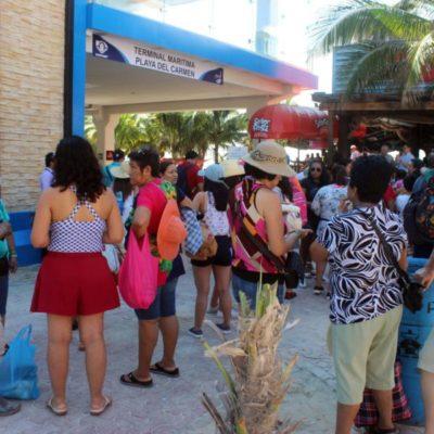 Terminal Marítima de Playa del Carmen se prepara para recibir a más de 25 mil pasajeros diariamente durante Semana Santa