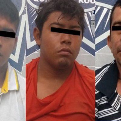 INVESTIGAN PISTAS DE EJECUCIÓN DE POLICÍA: Detenidos en la SM 248 tenían armas y son implicados en ejecución de comandante en Puerto Juárez