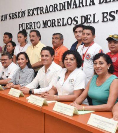 Cabildo de Puerto Morelos aprueba el Programa Municipal de Protección Civil, cuyo objetivo es actuar de manera eficaz en caso de contingencia