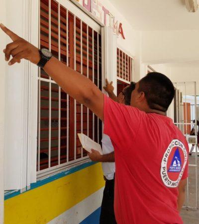 Con 22 refugios, autoridades de Puerto Morelos aseguran que están listas para atender a los habitantes durante la temporada de huracanes 2019