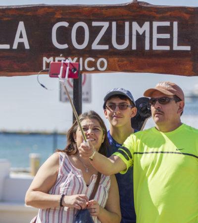 Cozumel se convierte en el destino preferido del Caribe Mexicano, gracias a la promoción turística que implementan autoridades de la isla