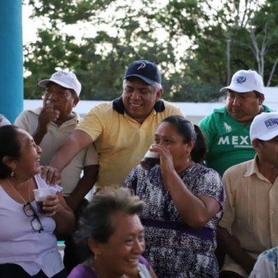 """""""Mi prioridad es gestionar recursos para cubrir las necesidades básicas de la Zona Maya"""", asegura Pedro Pérez"""