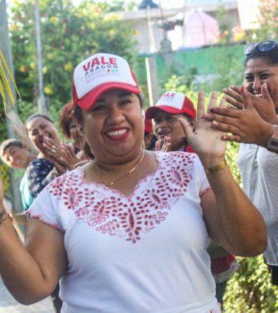 Valeria Aragón asegura que es la mejor opción para el Distrito 1