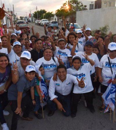 EL 'Chino' Zelaya se compromete a legislar con propuestas que vengan de la ciudadanía