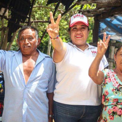 Valeria Aragón invita a la gente a que se sumen al proyecto que encabeza