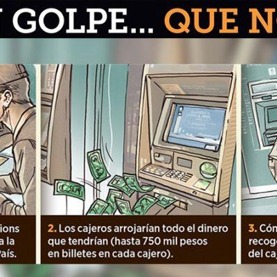 FRUSTRAN ROBO SIMULTÁNEO EN 2 MIL CAJEROS: Hacker desertor reveló la llamada 'Operación del Siglo'