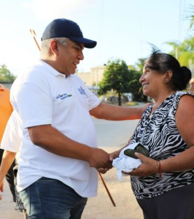 Pedro Pérez gestionará apoyos y programas para el bienestar de habitantes de la Zona Maya