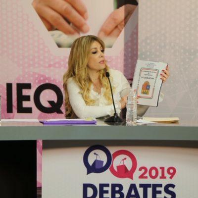 Participa Fátima Gárnica en el debate entre candidatos por el Distrito 6