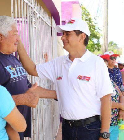 Carlos Hernández Blanco da a conocer los 5 ejes de sus 15 propuestas legislativas para Cozumel