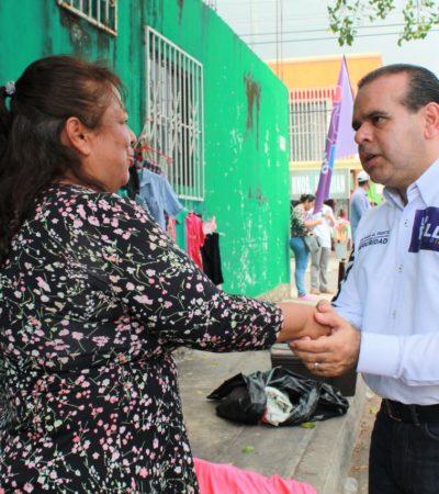 El paso al frente por la seguridad lo debemos dar todos, advierte Luis Roldán