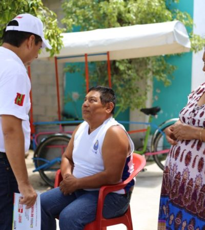 El candidato Carlos Hernández ofrece experiencia y capacidad para mejorar Cozumel y darle una vida digna a sus habitantes