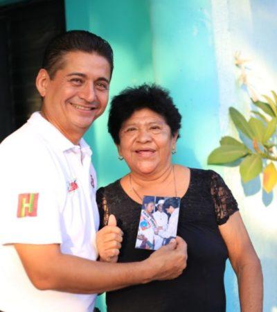 """""""Vamos por el camino correcto, podemos transformar nuestra realidad a un camino seguro"""", asegura Carlos Hernández"""