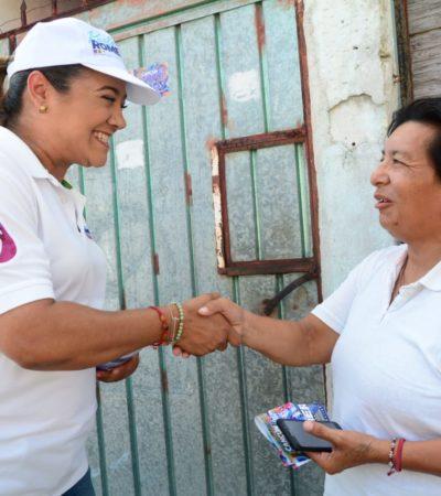 """Llama Karla Romero a recuperar """"el pedacito de Cancún que nos pertenece a cada uno de nosotros"""""""