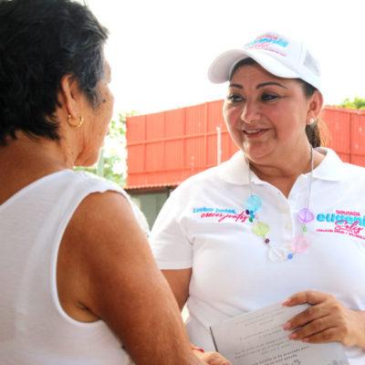 Facilitar el acceso a créditos y programas para emprendedores, ofrece Eugenia Solís