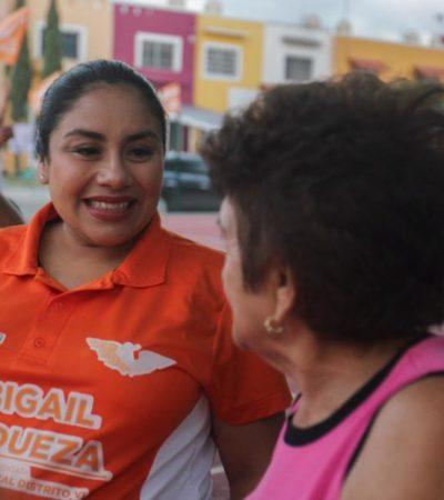 Denuncia Abi Andueza que autoridades de QR han desatendido la cárcel de Cancún y pide que la reubiquen para seguridad de los habitantes de la Región 99