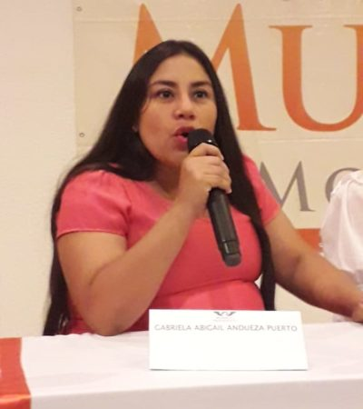 Falta voluntad política de autoridades para atender 'Alerta de Violencia de Género', expresa Abi Andueza