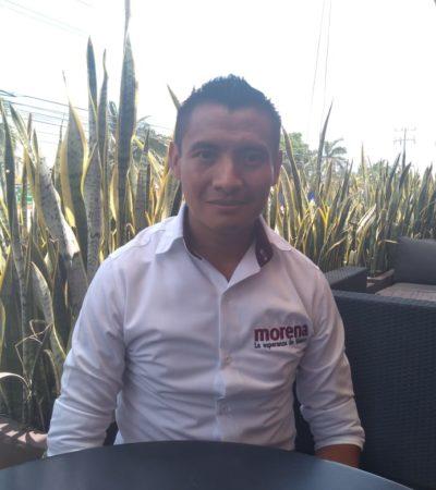 """""""Ataques a mi propaganda no afectarán mi campaña"""", asegura el candidato Alberto Batún Chulim"""