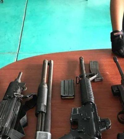Caen en Tabasco diez presuntos delincuentes, entre ellos una mujer y dos policías en activo
