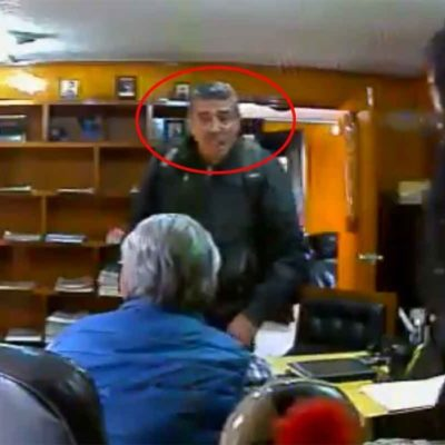 VIDEO | Capta cámara de seguridad asesinato de abogado en Cuautitlán (18+)